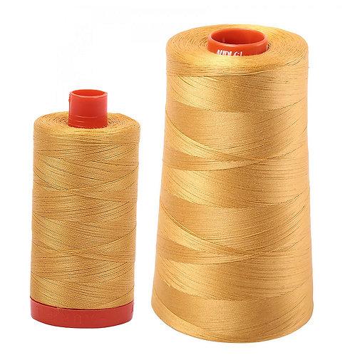 Aurifil Cotton Thread 50wt Tarnished Gold 2132