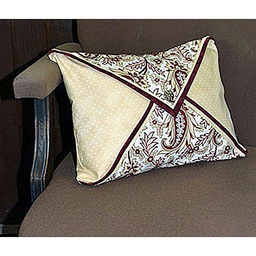 Double Flap Pillow by Debra Zellner