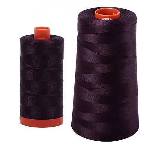 Aurifil Cotton Thread 50wt Aubergine 2570