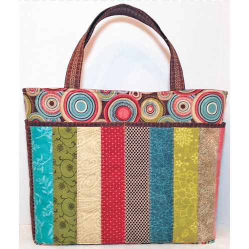 Sew Strippy Tote by Cathey Laird