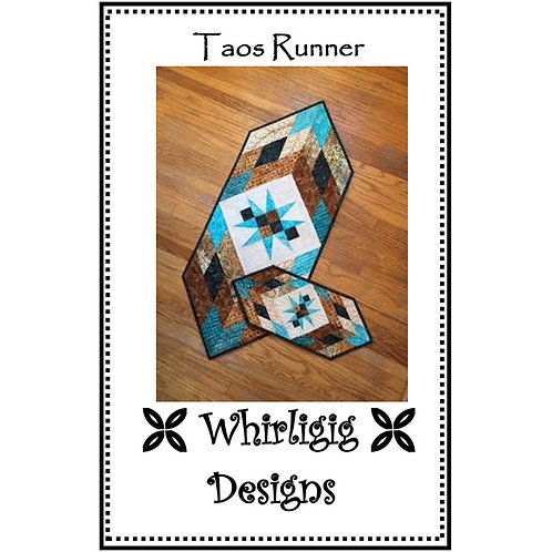 Taos Table Runner by Whirligig Designs