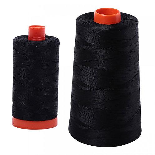 Aurifil Cotton Thread 50wt Black 2692