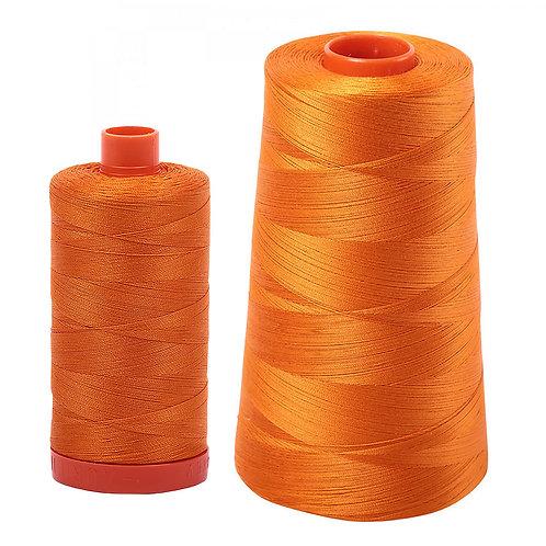 Aurifil Cotton Thread 50wt Bright Orange 1133