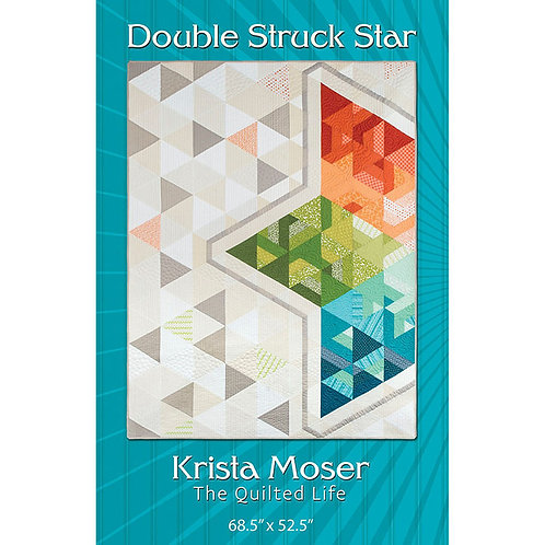 Double Struck Star Quilt by The Quilted Life