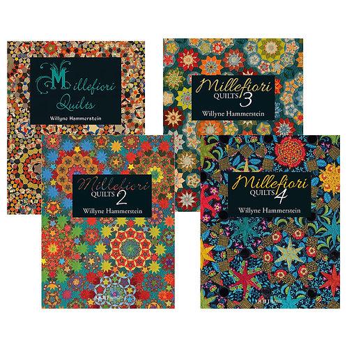 Millefiori Quilts Set of 4 Books by Willyne Hammerstein