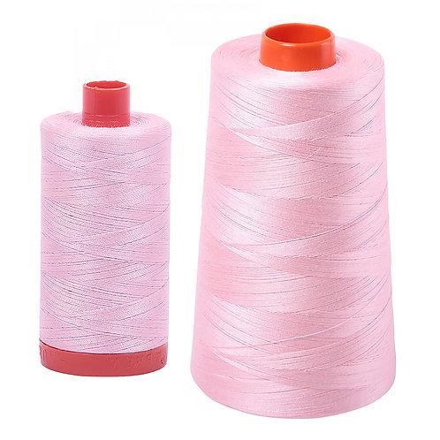 Aurifil Cotton Thread 50wt Baby Pink 2423