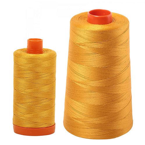 Aurifil Cotton Thread 50wt Orange Mustard 2140