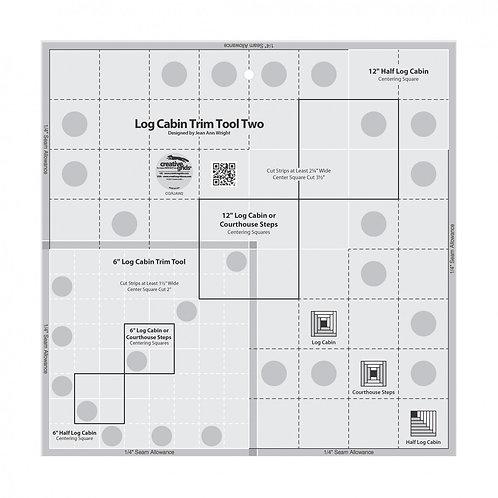 CGRJAW2-Creative Grids Log Cabin Trim Tool Template