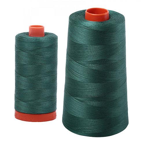 Aurifil Cotton Thread 50wt Turf Green 4129