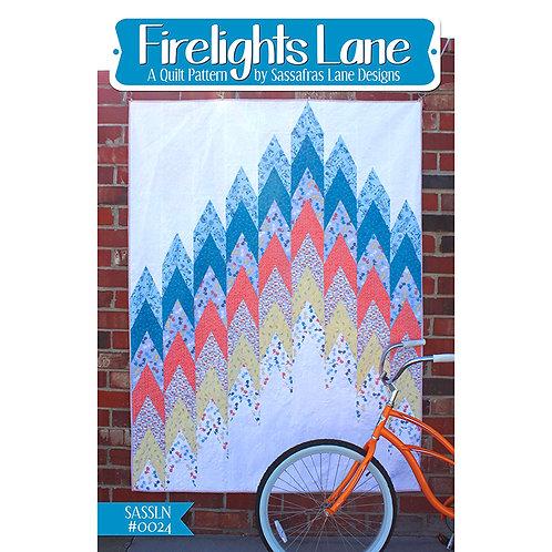 Firelights Lane Quilt by Sassafras Lane Designs