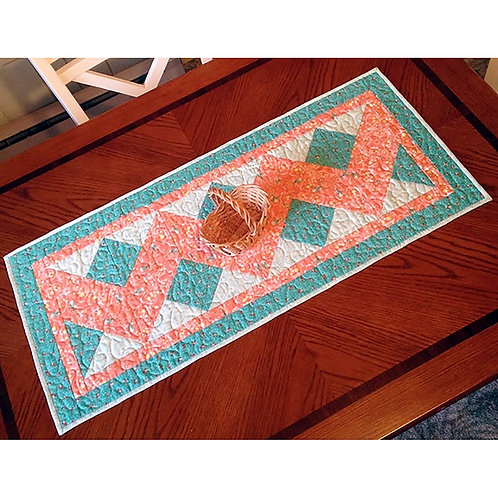 Double Chevron Table Runner by Cathey Laird