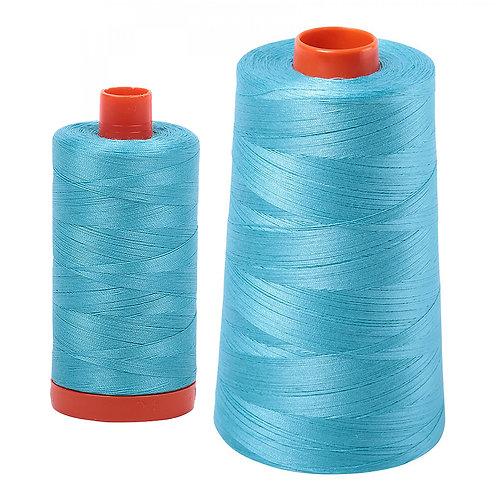 Aurifil Cotton Thread 50wt Bright Turquoise 5005