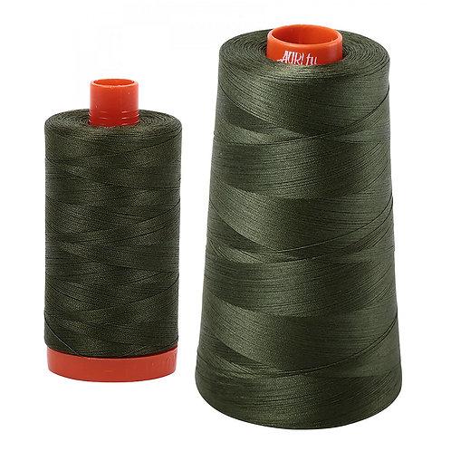 Aurifil Cotton Thread 50wt Dark Green 5012