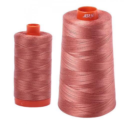 Aurifil Cotton Thread 50wt Cinnabar 6728