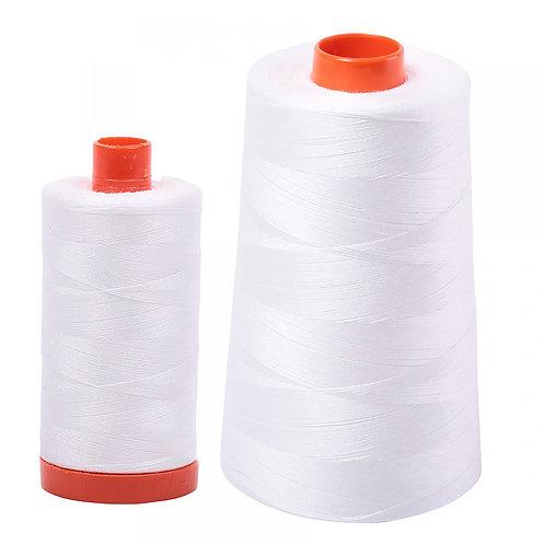 Aurifil Cotton Thread 50wt Natural White 2021