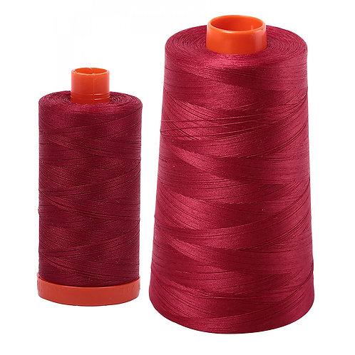 Aurifil Cotton Thread 50wt Burgundy 1103