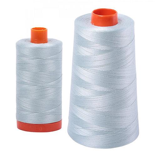 Aurifil Cotton Thread 50wt Light Grey Blue 5007