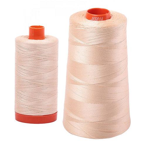 Aurifil Cotton Thread 50wt Pale Flesh 2315