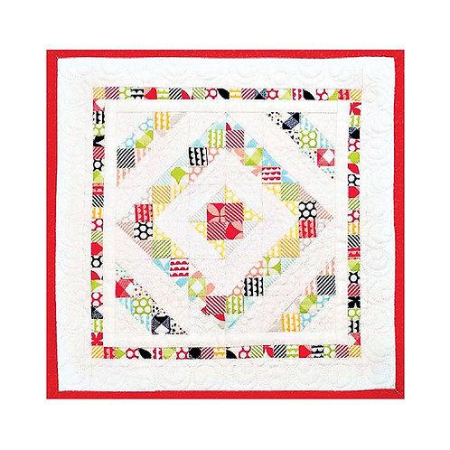 Around the Square Mini Quilt by Heidi Pridemore