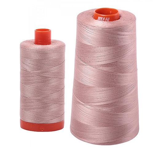 Aurifil Cotton Thread 50wt Antique Blush 2375