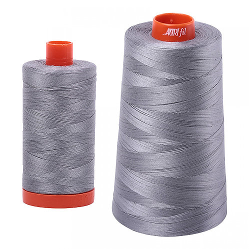 Aurifil Cotton Thread 50wt Grey 2605