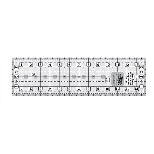 Creative Grids Basic Range 4in x 14in Rectangle Quilt Ruler
