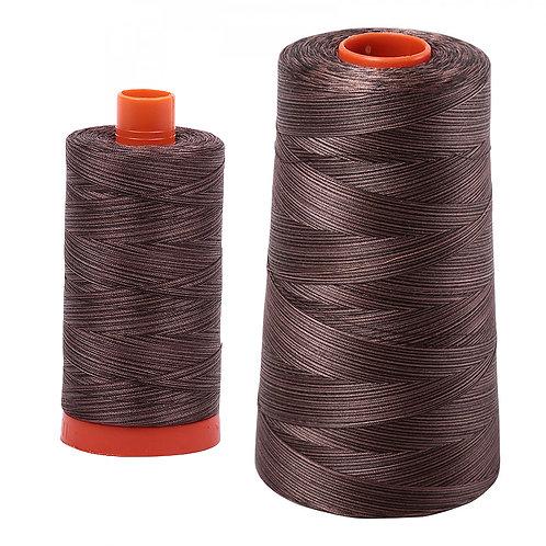 Aurifil Cotton Thread 50wt Variegated Mocha Mousse 4671