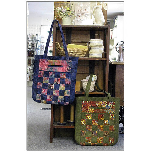 Cross Town Carry - City To Market Tote  by Marlous Designs