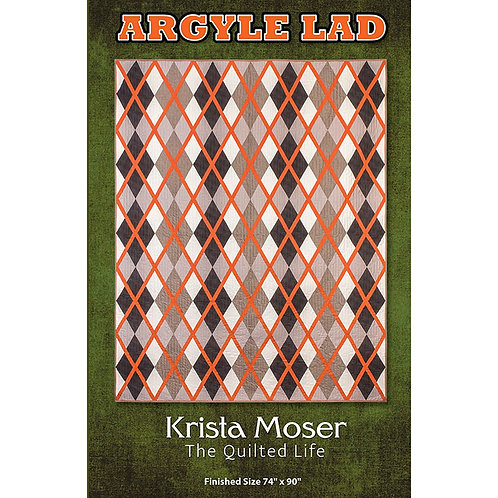 Argyle Lad Quilt by The Quilted Life