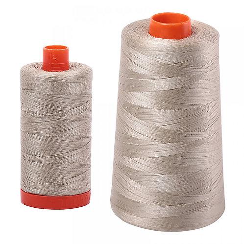 Aurifil Cotton Thread 50wt Stone 2324