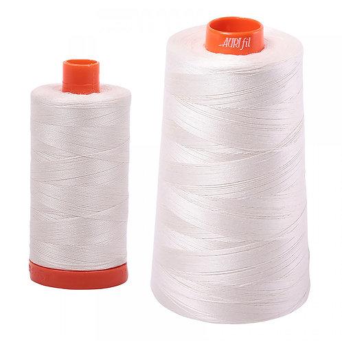 Aurifil Cotton Thread 50wt Muslin 2311