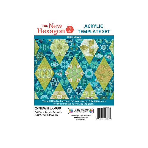 The New Hexagon 2 EPP Sets by Katja Marek