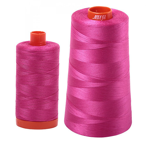 Aurifil Cotton Thread 50wt Fuchsia 4020