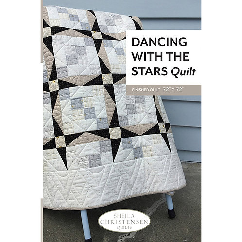 Dancing with the Stars Quilt by Sheila Christensen