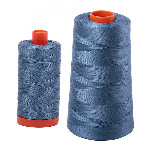 Aurifil Cotton Thread 50wt Blue Grey 1126