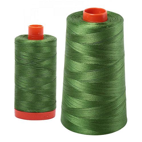 Aurifil Cotton Thread 50wt Dark Grass Green 5018