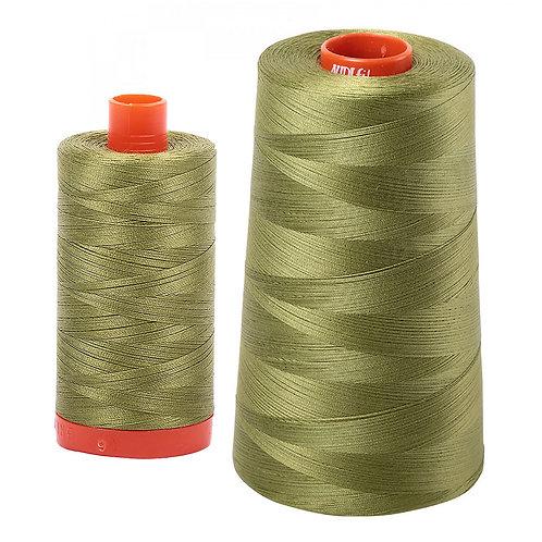 Aurifil Cotton Thread 50wt Olive Green 5016