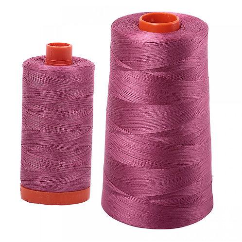 Aurifil Cotton Thread 50wt Rose 2450
