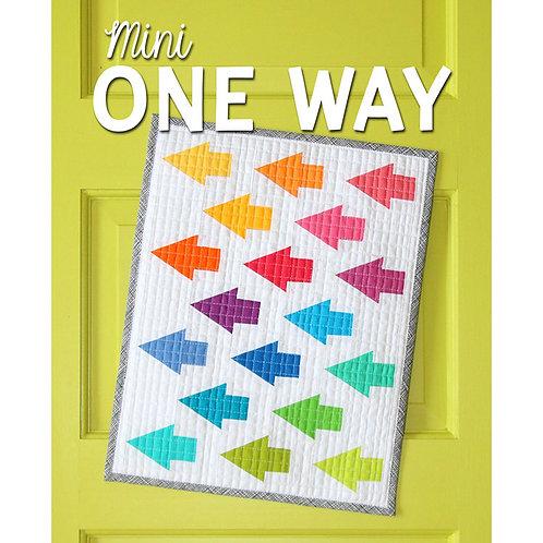 Mini One Way Quilt by Sassafras Lane Designs