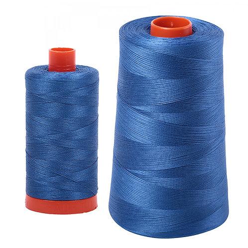 Aurifil Cotton Thread 50wt Delft Blue 2730