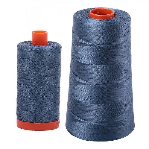 Aurifil Cotton Thread 50wt Medium Blue Grey1310