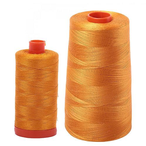 Aurifil Cotton Thread 50wt Yellow Orange 2145