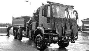 Winterised and wateproof conversions for vehicles and auxiliary equipment.