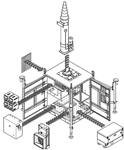 Engineering Drawing Prototype Exploded View