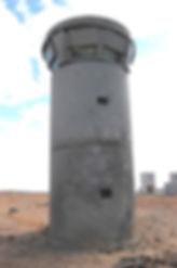 Blast resistant 7m Dynatower Post Blast Test