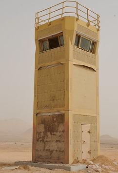 DUCS Tower post blast test