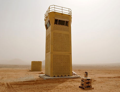 DUCS Tower pre blast test