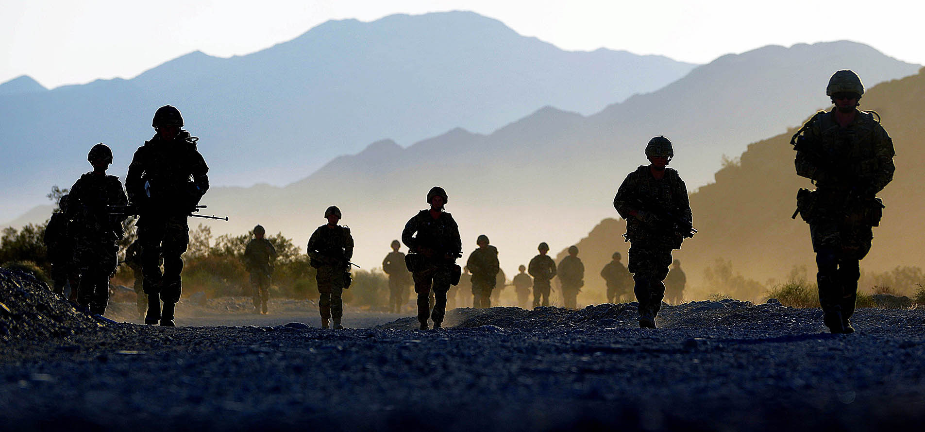 Military Personnel on the move