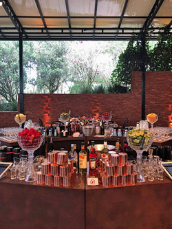 Bar Corten em Ilha