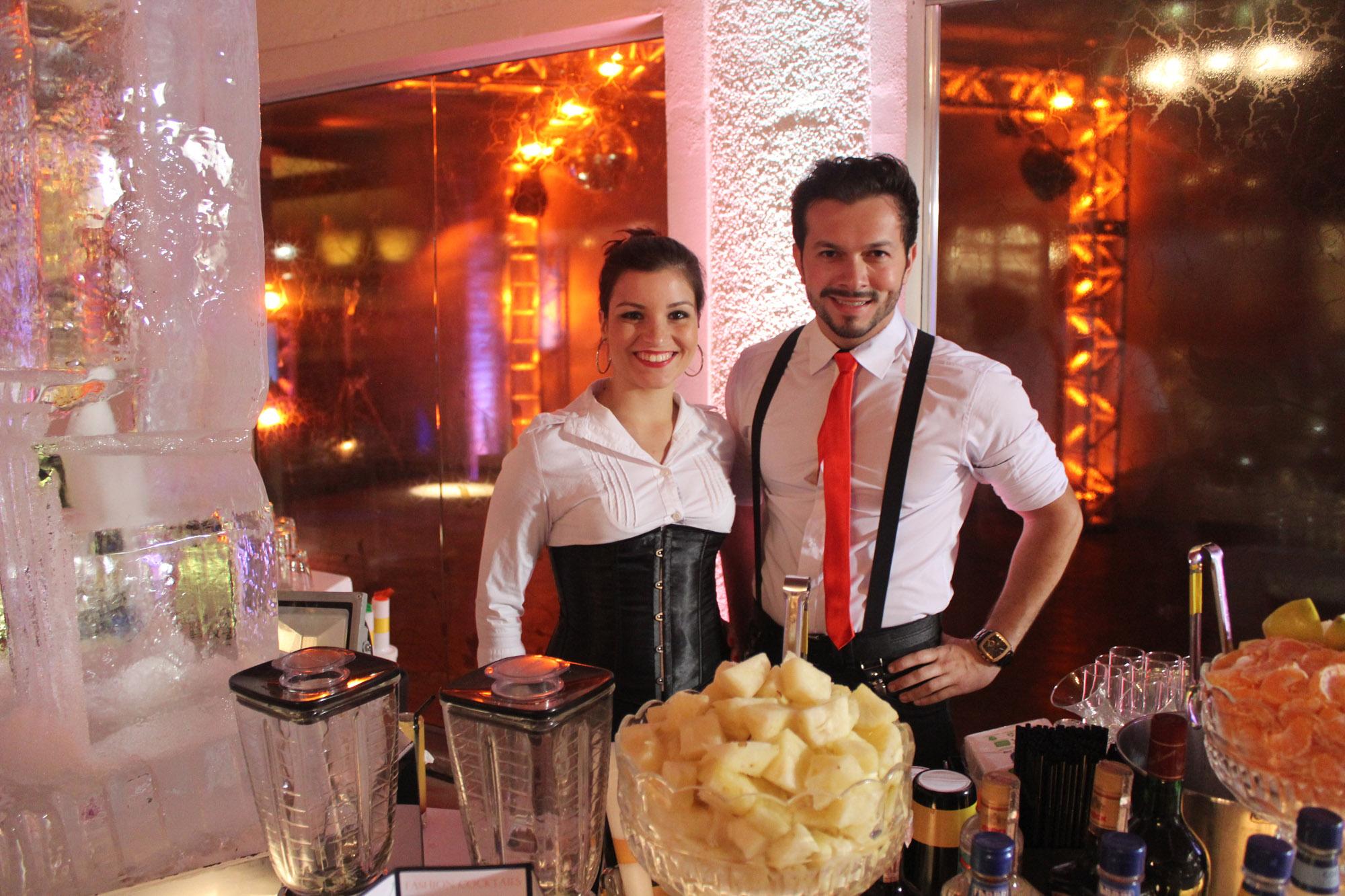 Bartenders em Casamento
